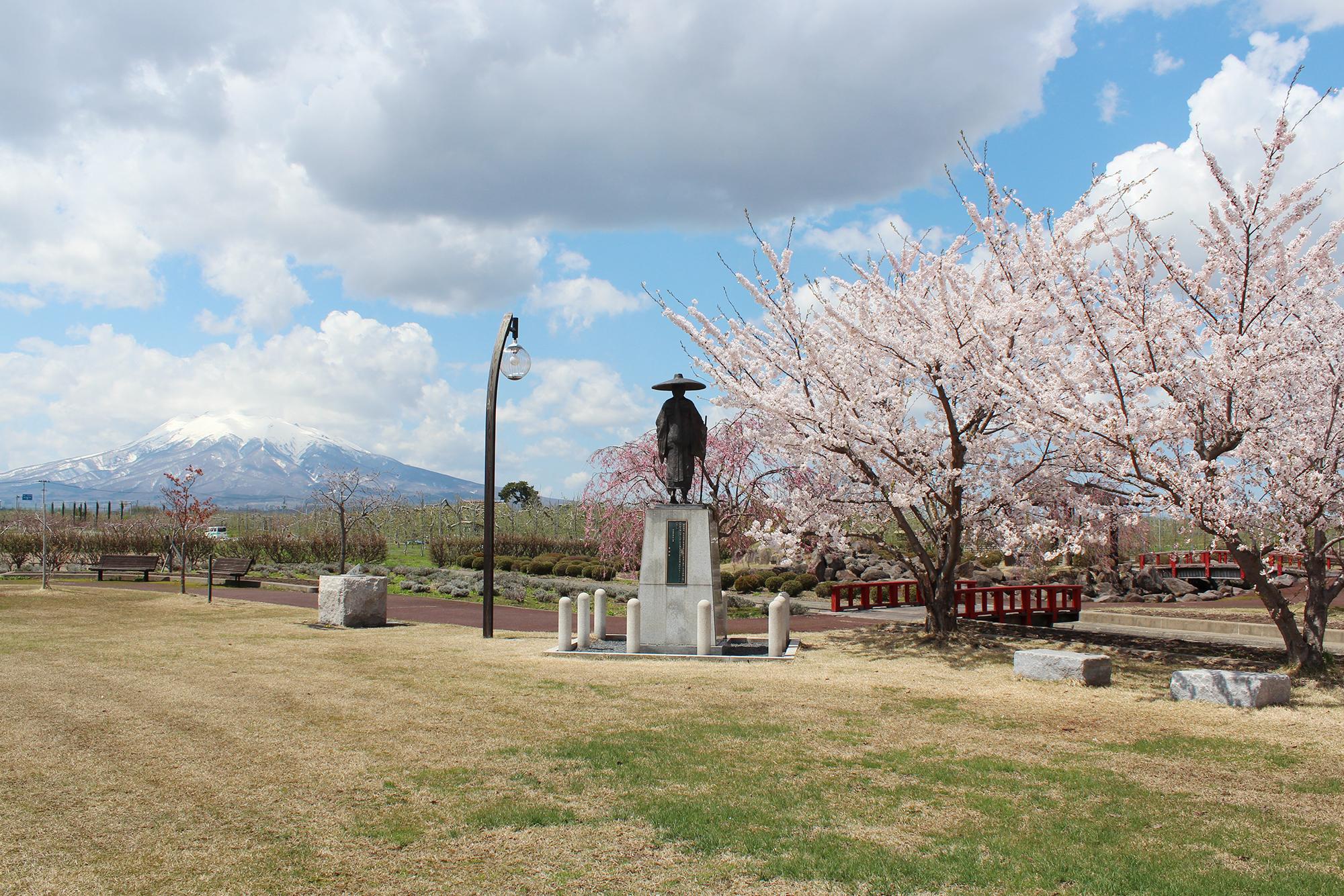 唐糸御前史跡公園